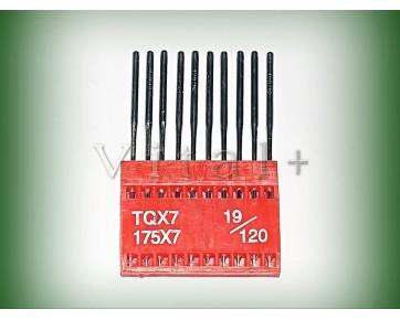 Промышленные швейные иглы TQx7 AMF для пуговичных полуавтоматов