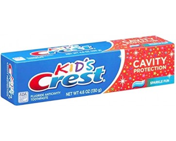 Детская зубная паста CREST CAVITY PROTECTION 4.6 OZ KIDS SPARKLE 130 гр