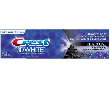 Зубная паста CREST 3D WHITE CHARCOAL 116 г