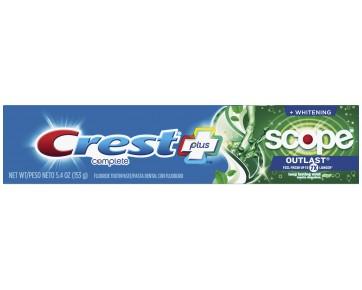 Зубная паста Crest Complete Whitening Scope Outlast 153 г
