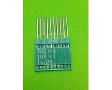 Промышленные швейные иглы BQx1 Dotec для петельных машин