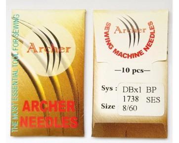 Игла DBx1 SES Archer - прямострочные швейные машины  для легких и среднихтрикотажных тканей