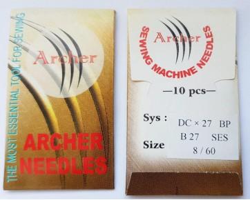 Игла DCx27/B27 SES Archer для  оверлоков, трикотажные ткани