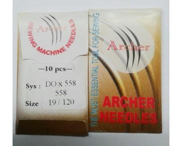 Игла DOx558 Archer для петельных машин цепного стежка
