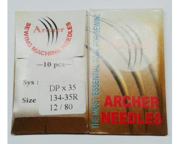 Игла DPx35 Archer для промышленных колонковых машин. Кожа и тяжелые ткани.