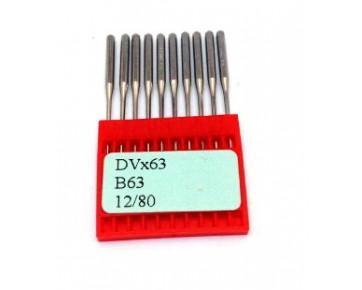Промышленные швейные иглы DVx63 Dotec для распошивальных машин цепного стежка