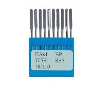 Иглы HAx1 SES Dotec для бытовых швейных машин и бытовых оверлоков, изделия из трикотажных тканей