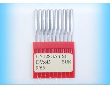 Промышленные швейные иглы UY128GAS SUK/DVx43 SUK Dotec для распошивальных машин. Джинсовые материалы, грубый трикотаж