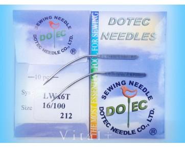 Промышленные швейные иглы Dotec LWx6T  для подшивочных машин потайного стежка