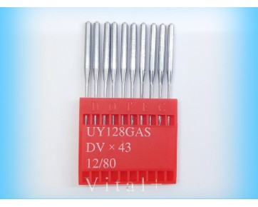 Промышленные швейные иглы UY128GAS, (DVx43) Dotec для распошивальных машин
