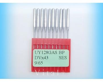 Промышленные швейные иглы UY128GAS SES/(DVx43 SES) Dotec для распошивальных машин, трикотажные ткани