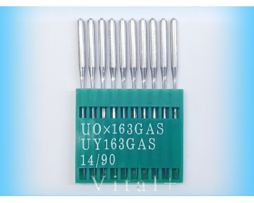 Промышленные швейные иглы UO163GAS/UY163GAS Dotec для швейных машин цепного стежка, легкие ткани