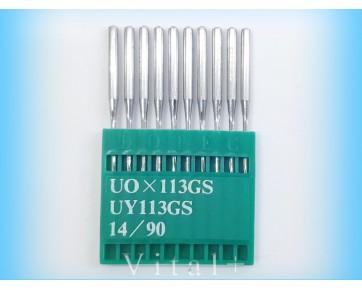 Промышленные швейные иглы UO113GS/UY113GS Dotec для машин цепного стежка.