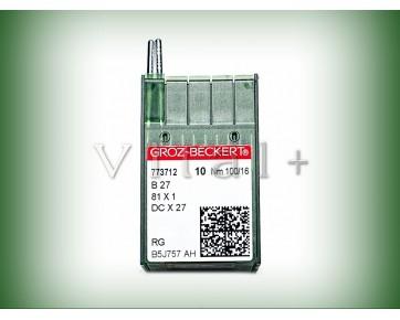 Промышленные швейные иглы DCx27/B27 RG Groz-Beckert для оверлока