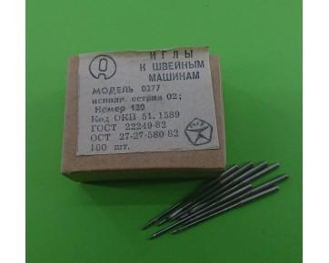 Промышленные швейные иглы 0277-02/DBx1 для прямострочных машин, цена за 100 шт.