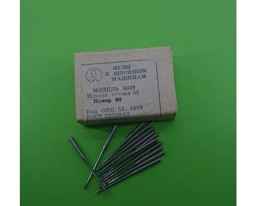Промышленные швейные иглы 0319-33/134LL для кожи, цена за 100 шт.