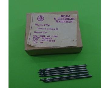 Промышленные швейные иглы 0756-33/328LL для универсальных машин