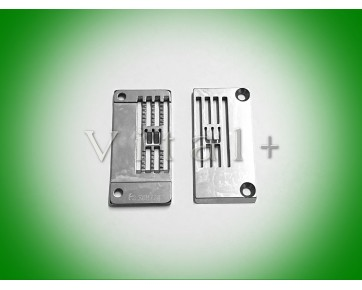 Игольная пластина S08724-0-01 1/4 Китай для распошивальных швейных машин BROTHER B271, B272.