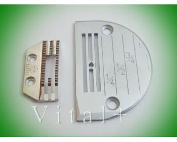 Сменный комплект (игольная пластина FD502843+двигатель ткани FD502803) удлиненный, Китай
