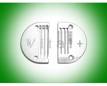 Игольная пластина B1109-041-E00 Тайвань для беспосадочных швейных машин