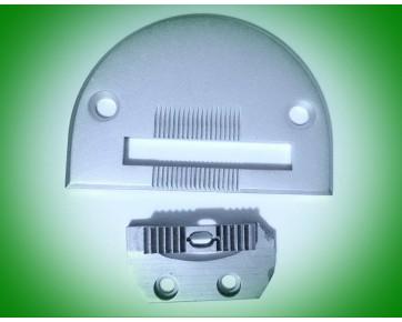 Игольная пластина 18030 + 18031 двигатель ткани, комплект, Китай
