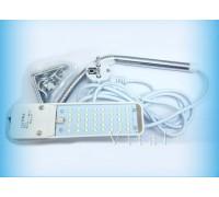 Светильник 27TS LED  для швейных машин на струбцине с вилкой