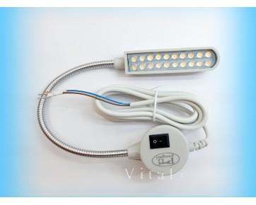 Светильник для швейной машины HPF-820, на гибкой ножке