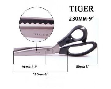 Ножницы для ткани Зигзаг 230 мм