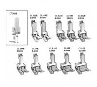 Лапка широкая CL1/32E, CL1/16E, CL3/32E, CL1/8E, CL5/32E, CL3/16E, CL1/4E, CL5/16E, CL3/8E, CL1/2E, подпружиненная
