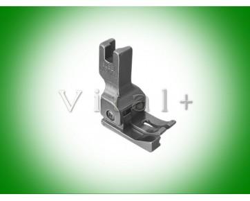 Лапка широкая CL1/16E подпружиненная левая для отделочной строчки.