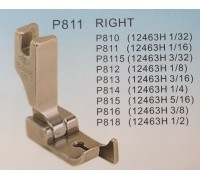 Лапка (12463) P810, P811, P812, P813, P814, P815, P816, P818 с правым ограничителем, YS