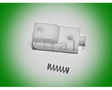 Подошва S518N-TB тефлоновая для потайной молнии