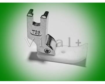 Лапка T69R правая тефлоновая для канта Китай