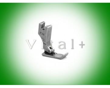 Лапка односторонняя для пришивания молнии правая широкая P36, Китай