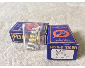 Промышленные швейные иглы DBx1 Flying Tiger для промышленных швейных машин для легких и среднихтканей.