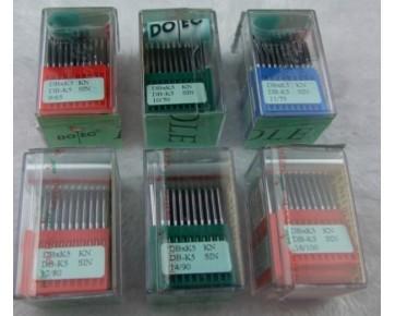 Игла DPx35 Dotec для колонковых машин, тяжелые ткани и кожаные изделия.