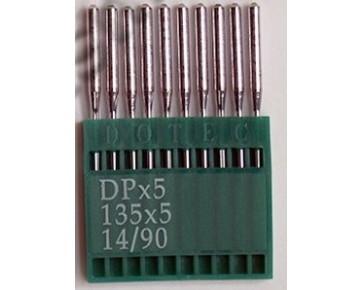 Промышленные швейные иглы DotecDPx5для прямострочных машин, средние и тяжелые ткани