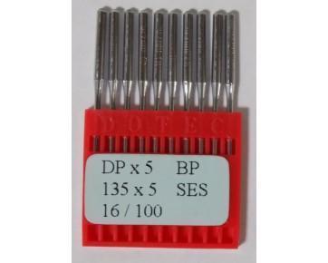 Промышленные швейные иглы Dotec DPx5 Ses  для прямострочных машин, для трикотажных тканей