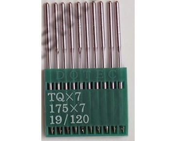 Промышленные швейные иглы TQx7 Dotec для пуговичных швейных машин