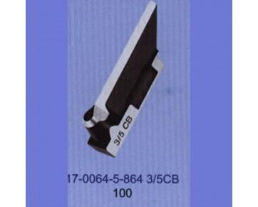 Нож петельный 17-0064-5-864