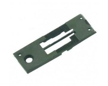 Игольная пластина 155853-0-01 1/4 Тайвань для двухигольной швейной машины BROTHER  LT2-835/845