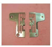 Игольная пластина 204360A (5 x 5) Китай для оверлоков Pegasus,Typical, ZoJe