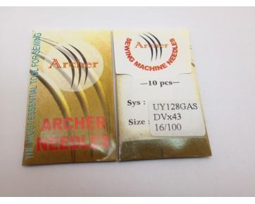 Промышленные швейные иглы UY128GAS Archer для распошивальных швейных машин