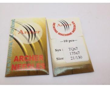 Игла TQx7 Archer для пуговичных швейных машин